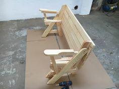 BATIKO ist die Gartentisch-Gartenbank-Kombination aus Naturholz geölt - Gartenmöbel mit Pfiff Folding Picnic Table Bench, Diy Picnic Table, Picnic Table Plans, Outdoor Chairs, Outdoor Furniture, Outdoor Decor, Wooden Bench Plans, Woodworking Projects Diy, Planer