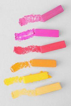 Pastel inspiration, colour collectors