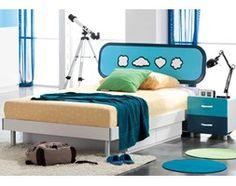 Łóżko z szafką nocną z kolekcji TORO 120