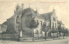 Historische Aufnahme vom Lyzeum in Wernigerode.
