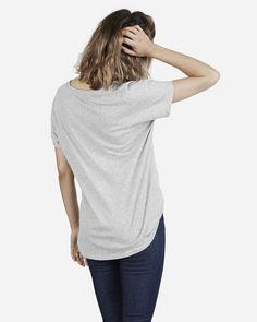 The Cotton U-Neck - Everlane