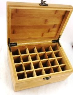 Beautiful Essential Oil Wooden Bamboo Storage Box 24 Compartment To And Protect Your Oils By Dreaming Earth Botanicals