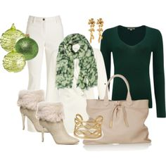 """CHRISTMAS FASHION"" by rossmoron on Polyvore"
