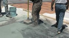 Concrete stamps are used to stamp, imprint and texture newly poured concrete. See these different stamped concrete patterns being used on freshly poured conc. Concrete Stamp Mats, Concrete Walkway, Poured Concrete, Concrete Cement, Concrete Design, Stained Concrete, Concrete Floors, Concrete Countertops, Diy Yard Furniture