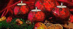 ¿Cómo hacer velas decoradas para navidad? Diseños para escoger  http://www.infotopo.com/eventos/navidad/como-hacer-velas-decoradas-para-navidad/