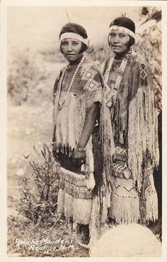 Mescalero Apache women at Ruidoso, New Mexico - circa 1942