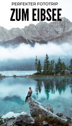 Fotoguide Eibsee – Drifting Along – Best Europe Destinations Cool Places To Visit, Places To Travel, Voyage Europe, Destination Voyage, Spots, Europe Destinations, Germany Travel, Japan Travel, Travel Usa