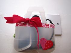 12 days of Christmas gifts: milk jug recycle