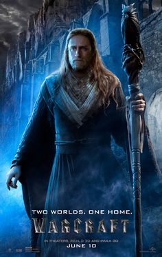 warcraft movie poster medivh ben foster Warcraft Gets 8 Character Posters & Comic Book Prequel Cover