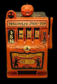 "Vintage Halloween Slot Machine - ""Halloween Jack Pot"""