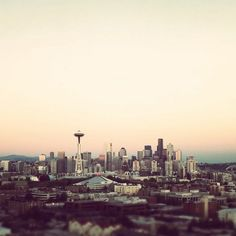 Seattle. Love this city. <3