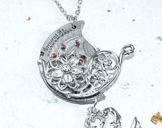 Steampunk Necklace  Phenomenal Guilloche Etched by TimeInFantasy, $120.00