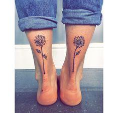 location only for mother/daughter tatoo Bad Tattoos, Dream Tattoos, Cute Tattoos, Beautiful Tattoos, Body Art Tattoos, Small Tattoos, Sister Tattoos, Ankle Tattoos, Calf Tattoo
