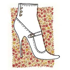 shoe illustration