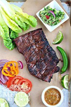Best Carne Asada Recipe, Authentic Carne Asada Recipe, Flank Steak Recipes, Beef Recipes, Steak Marinades, Dairy Recipes, Grilled Recipes, Healthy Recipes, Mexican Food Recipes