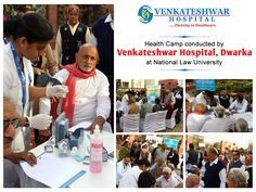 Health Camp Conducted By Venkateshwar Hospital, Dwarka at #NationalLawUniversity.   #VenkateshwarHospital #Hospital #HospitalinDwarka #HealthCamp