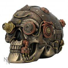 steampunk skull head - Recherche Google