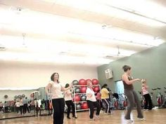 "Zumba routine to ""Just Dance"" by Lady Gaga"