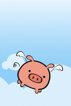 flying piggie