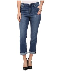 DKNY Jeans Soho Skinny Rolled Crop in Midsummer Wash Midsummer Wash - Zappos.com Free Shipping BOTH Ways