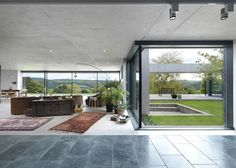 loyn & co architects / inside-out house, brockweir gloucestershire