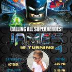 lego batman birthday invitations with photo - lego batman invitations Welcome to Best Birthday Party This is a s Lego Batman Movie Birthday invitation will be a perfect addition to Lego Batman Invitations, Lego Birthday Invitations, Custom Invitations, Lego Batman Birthday, Lego Batman Party, Superhero Birthday Party, Invite, How To Memorize Things