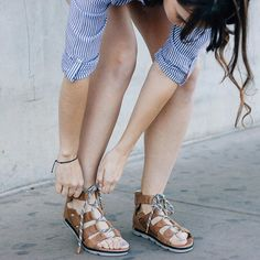 58549bbb935 Sandal season is finally here and I m loving the Torpeda Lace Sandal from
