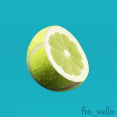 Citrus to tennis ball. Object Photography, Creative Photography, Conceptual Art, Surreal Art, Photomontage, Photoshop, Web Design, Graphic Design, Best Ads