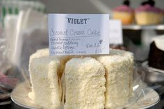 Violet Cakes at Broadway Market, Hackney, London - Every Saturday