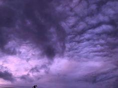 The sky turned vivid shades of purple in parts of Japan as Typhoon Hagibis approached Gunma, Wakayama, Purple Grey, Shades Of Purple, Rurouni Kenshin, D Gray Man, Grey Skies, Water Droplets, Light Reflection