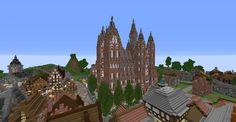 Mittelalterliche Kathedrale (mit Zeitraffer)