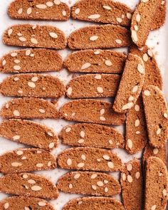 Seeded Graham Biscotti