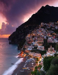 Beautiful Positano, Italy.