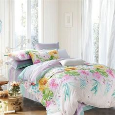 Cheap bed sheet protector, Buy Quality bed blanket directly from China bed sheet white Suppliers: Fashion girls fairy floral bedding set flower garden bed linen duvet cover bed flat sheet pillowcases Cheap Bedding Sets, Best Bedding Sets, Bedding Sets Online, Luxury Bedding Sets, Bed Comforter Sets, Queen Bedding Sets, Queen Duvet, Floral Bedding, Linen Bedding