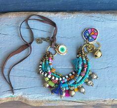 Hippie boho etnische multi strand armband Gypsy armband