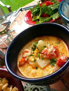 Jasper White's Lobster Corn Chowder