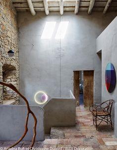 Un escalier lumineux
