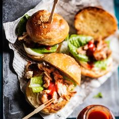 Pulled pork sliders | Kotiliesi