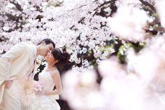 前撮り:桜 pre wedding photo : SAKURA | こだわりの結婚式の写真&撮影|フォトウェディングのcocoFLEUR Couple Photography Poses, Engagement Photography, Spring Wedding, Dream Wedding, Wedding Engagement, Wedding Gowns, Wedding Photos, Fancy, Weddings