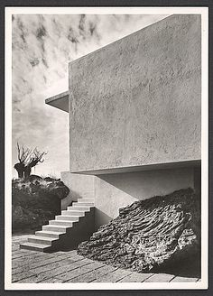 luisbarragan:    Residence designed by Max Cetto in The Pedegral, Mexico City, 19— / Guillermo Zamora, photographer. Esther McCoy papers, Archives of American Art, Smithsonian Institution.