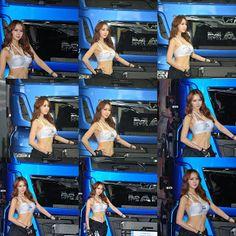 CMS 자동이체 010-7696-1202: 2017 킨텍스 서울모터쇼 MAN 레이싱모델 섹시미녀 레이싱걸한채이 사진모음