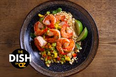 Shrimp-Fried Rice With Cauliflower Recipe - The Dr. Oz Show Shrimp Fried Rice, Cauliflower Fried Rice, Cauliflower Recipes, Low Calorie Recipes, Healthy Dinner Recipes, Calories Shrimp, Chinese Food Take Out, Weight Loss Meal Plan, Rice Recipes