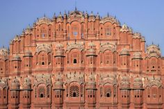 India Jaipur Hawa Mahal Palace of Winds (48030). ancient, architecture, city-palace, civilization, culture, destinations, east-indians, hawa mahal