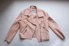 I want this acne suede jacket!!!
