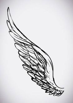 Line Drawing Of Angel Stock Vector Illustration And Royalty Free Line Drawing Of Angel Clipart Wing Tattoo – Fashion Tattoos Angle Wing Tattoos, Wing Tattoo Arm, Neck Tatto, Tattoo Drawings, Body Art Tattoos, Small Tattoos, Tatoos, Men Tattoos, Eagle Tattoos