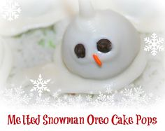 Snowman Oreo Cake Pops from SusieQTpies Cafe