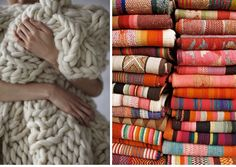 FALL WARM AND COZY BLANKETS | Cozy blankets, fresh, hot from the dryer