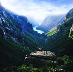 vhord: dreamingofcastles: Western Brook Pond Fjord, Gros Morne National Park (by Newfoundland and Labrador Tourism) strictly nature Mostly nature Oh The Places You'll Go, Places To Travel, Travel Destinations, Places To Visit, Vacation Travel, Gros Morne, Newfoundland And Labrador, Newfoundland Canada, Newfoundland Island