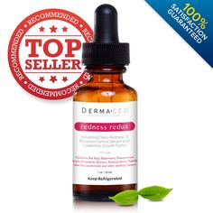 Redness Redux | #1 Best Recommended Advanced Rosacea Treatment | Rapid Remedy for Red Skin and Red Cheeks - Repairs Damaged Skin - Contains EGF (Epidermal Growth Factor) to Reduce Broken Capillaries and Moisturize - Best Selling Skin Care Cream for Rosacea Redness - Rosacea Cream & Moisturizer Treatment Serum | Harness This Formula to Beat Rosacea Today!