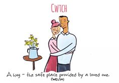Cwtch - Untranslatable Words - Vashi